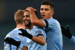 Premier League: Manchester City 5-0 Burnley: Mahrez hits hat-trick in latest Clarets thrashing