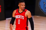 Rockets trade Westbrook to Wizards for Wall amid Harden uncertainty – report