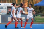 Indian Junior Women's Hockey Team come from behind to beat Chile Junior Women's Team 4-2