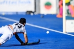 Indian men's hockey team return to International competition with a roaring 6-1 win against Germany