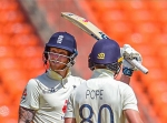 India vs England, 4th Test: Tea update: Ben Stokes fifty leads English resistance