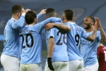 Manchester City 4-1 Wolves: Jesus scores late double as leaders match club record