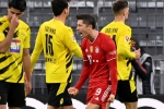 Bayern Munich 4-2 Borussia Dortmund: Lewandowski outguns Haaland with Klassiker hat-trick