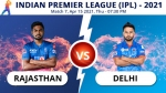 IPL 2021, RR vs DC Match 7 Toss report and playing 11 update: Lalit Yadav handed debut by Delhi