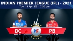 IPL 2021: DC vs PBKS, Match 11 Live Updates: Punjab Kings, Delhi Capitals face off in Mumbai