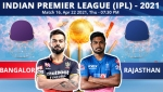 IPL 2021: RCB vs RR, Match 16 Live Updates: Rajasthan set to face Bangalore test