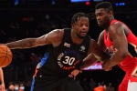 Red-hot Randle follows in Carmelo's footsteps as Knicks roll on, Durant hurt in Nets defeat