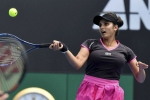 Sania Mirza and Bethanie crash out of Easbourne Open doubles