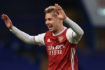 Chelsea 0-1 Arsenal: Smith Rowe pounces on Jorginho howler to give Gunners derby joy