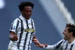 Juventus 3-2 Inter: Cuadrado scores twice as Bianconeri keep top-four hopes alive