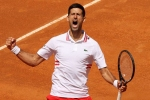 Djokovic rallies to reign over Tsitsipas in Rome