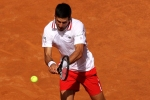 Novak Djokovic enjoys himself with fans back at Italian Open