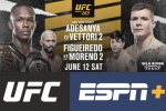 UFC 263: Championship doubleheader welcomes fans back to Arizona