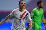 copa america, football, chile, paraguay, miguel almiron, copa america 2021