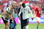 Euro 2020: France winger Dembele to miss rest of tournament with knee injury
