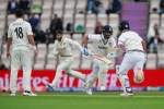 WTC Final: India vs New Zealand, Day 2 Tea report: Play halted due to bad light