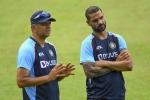 Rahul Dravid reacts as nine India players miss 2nd T20I; Shikhar Dhawan calls his teammates 'street fighters'