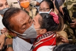 Teary homecoming: Olympic silver-medallist Mirabai Chanu breaks down on meeting mother