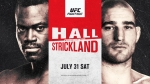 UFC Vegas 33: Hall vs Strickland fight card, date, time in India and where to watch