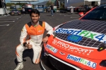 Technical glitch at the end moment plays spoilsport for Akhil Rabindra at Circuit Spa