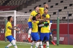 Tokyo 2020: Brazil see off Mexico in penalties to reach men's football final