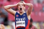 Tokyo Olympics: Warholm sets stunning 400m hurdles world record, breaking 46-second barrier in gold run