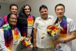 Sindhu a sporting icon and one of India's greatest Olympians: Thakur