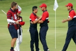 Ryder Cup: USA win on home soil as hosts produce record victory