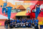 IPL 2021: Delhi Capitals paint the town blue