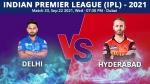 IPL 2021, DC vs SRH Match 33 Toss Report and Playing 11 Update: Sunrisers opt to bat, Ashwin in Delhi 11