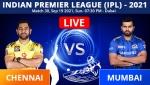 IPL 2021: CSK vs MI, Match 30 Live Updates: Chennai Super Kings, Mumbai Indians face off as IPL resumes