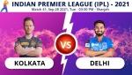 IPL 2021: KKR vs DC, Match 41 Live Updates: Kolkata Knight Riders take on Delhi Capitals