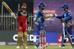 IPL 2021, RCB vs MI Stats and Records preview: Kohli, De Kock and Rohit close in on milestones