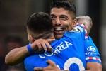 Milan 1-2 Atletico Madrid: Suarez strikes at the death to down 10-man Rossoneri