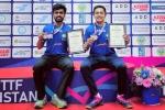 Indian paddlers Siddhesh-Mudit and Snehit-Sudhanshu bag men's doubles bronze at Kazakhstan International Open