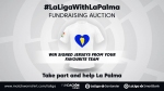 La Liga supports charity auction of jerseys for volcano victims