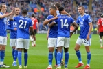Leicester City 4-2 Manchester United: Red Devils collapse, Man City prevail