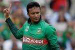 Shakib Al Hasan becomes highest wicket-taker in T20 Internationals
