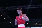 Shiva Thapa wins at the 2021 AIBA Men's World Boxing Championships