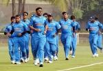 Indian blind cricket team up against SL