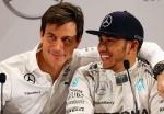 Wolff hails 'class act' Hamilton