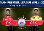 IPL 2021: PBKS vs CSK: Preview, TV info