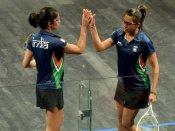 Dipika, Joshana create history with squash gold medal