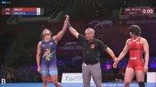 Navjot Kaur creates history, wins gold in Asian Wrestling