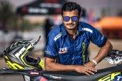 Aravind KP named in the Sherco TVS Factory Rally Team for Dakar Rally 2019