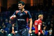 Saurav Ghosal goes down fighting to Tarek Momen