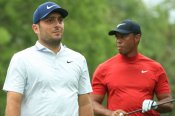 Golf: Molinari one clear of Woods with nine to play at Masters