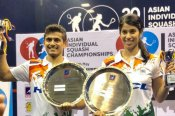 Saurav Ghosal, Joshna Chinappa win Asian squash titles