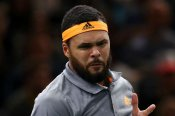 Tsonga outsmarts Rublev to end two-year wait in Paris Masters