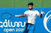 Niki Poonacha leads Indian march at Bengaluru Open